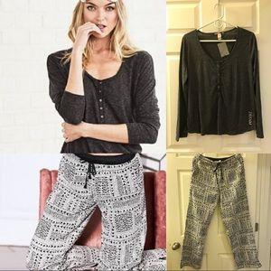 Pajama SET 💖 Victoria Secret Shirt + Long Pants